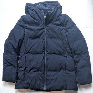 UNIQLO navy puffer winter coat